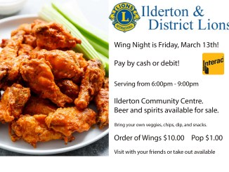 wing night friday march 13