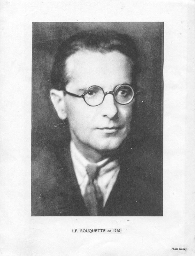 Rouquette en 1926