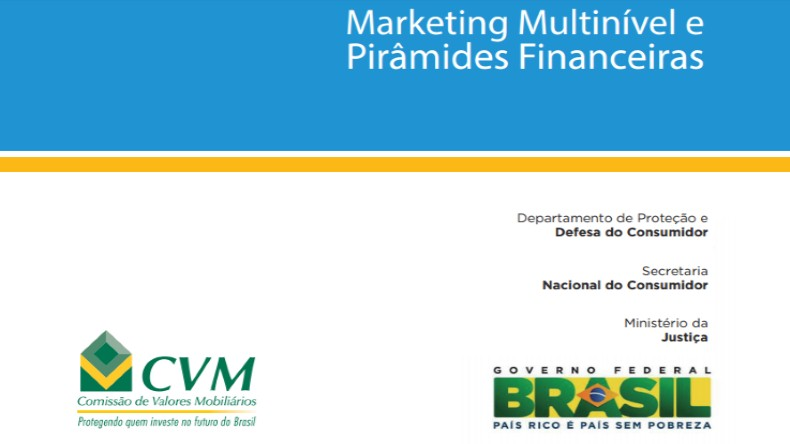 Marketing Multinivel x Pirâmide Financeira | Boletim CVM, SENACON e Ministério da Justiça