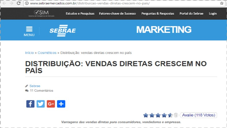 Marketing Multinível Sebrae Mercados