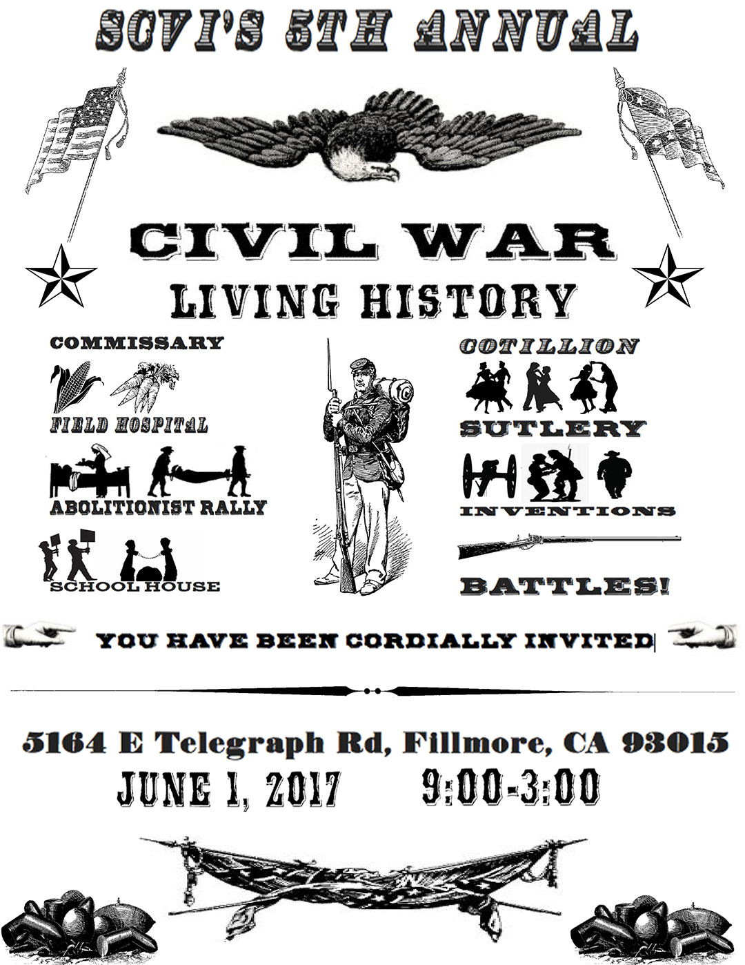 SCVi 8th Grade Presents 5th Annual Civil War Living