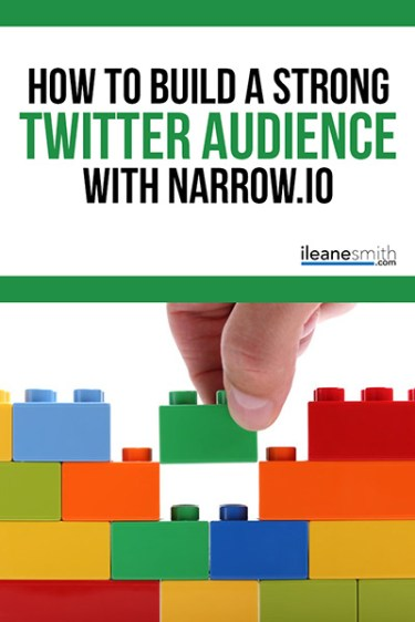How to Build a Strong Twitter Audience with Narrow
