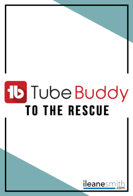 Rescue Your Channel with TubeBuddy