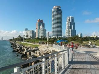 Miami Beach's Southernmost point