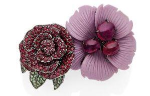3 fleurs cueillies chez Christie's