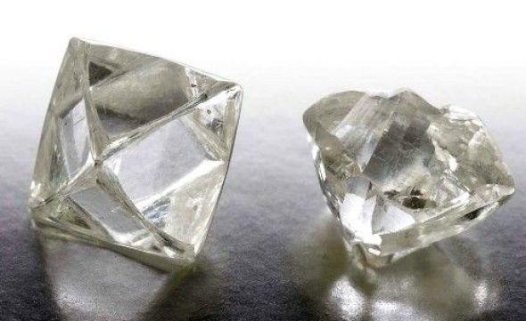 diamants bruts naturels
