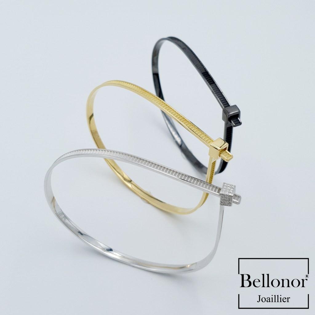 bracelet de serrage Ateliers Bellonor Tony Bellone