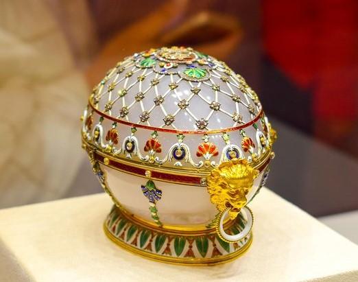 oeuf régence Fabergé