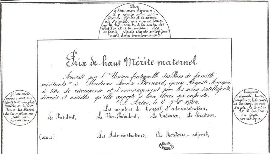 Prix du Haut Mérite maternel