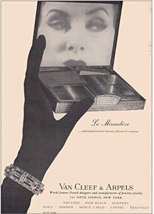 1950 - publicité minaudière - Van Cleef & Arpels