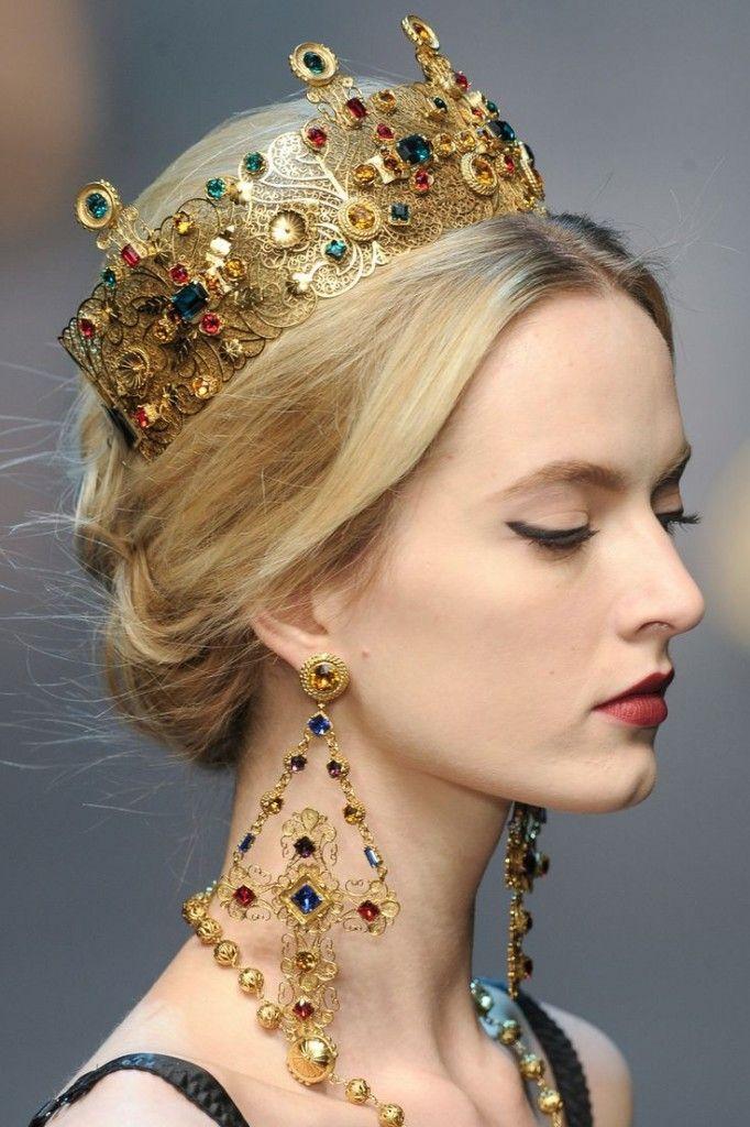 inspiration Théodora - Dolce Gabbana