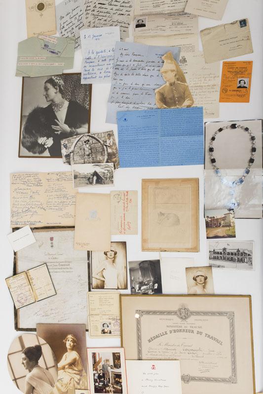 lettre de Jeanne Toussaint