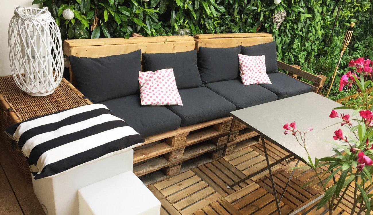 DIY Déco : Salon De Jardin En Palettes Rapide U0026 Facile