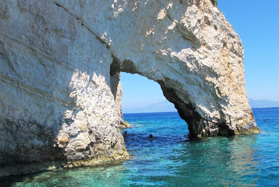 Iles Grecques, Séjour à Zante par il etait une veggie
