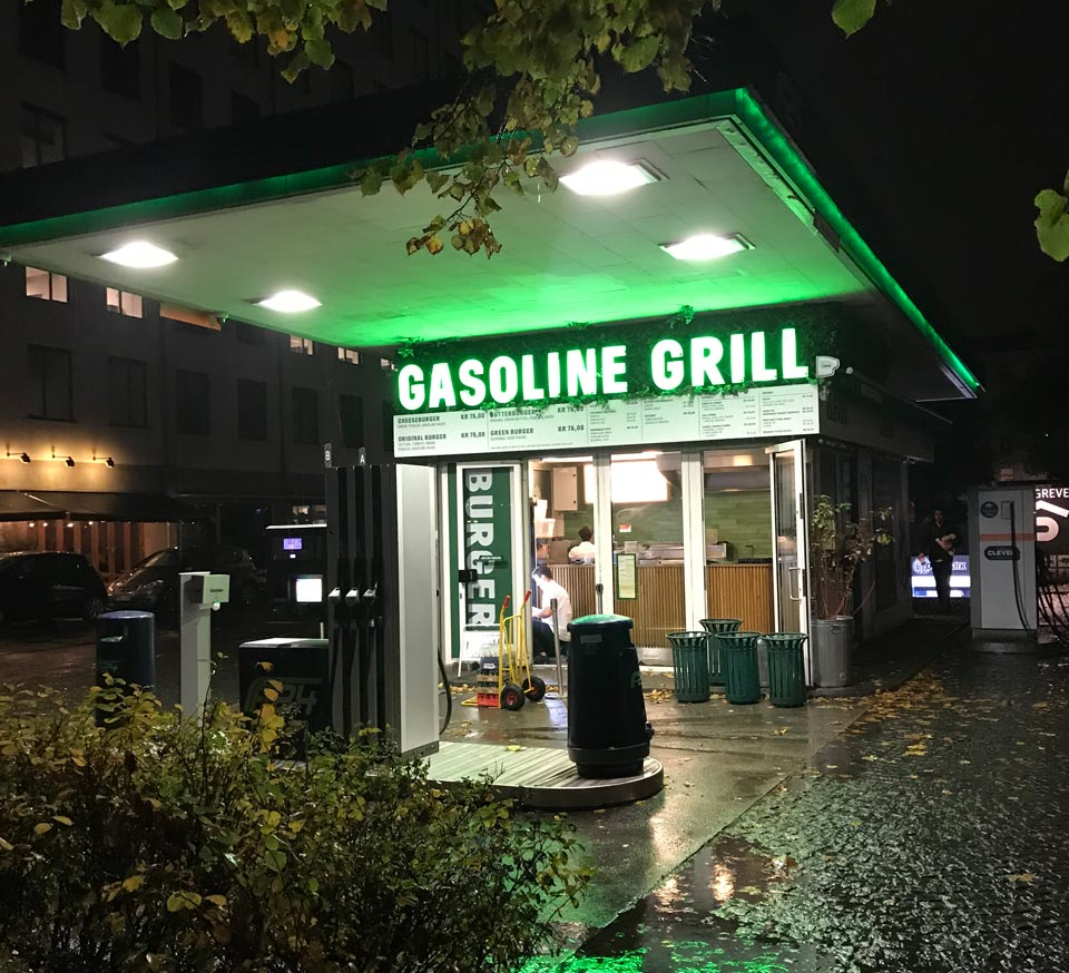 Resto Gasoline grill week end de 3 jours a Copenhague