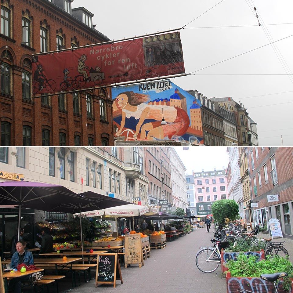 Norrebro 3 jours a Copenhague il etait une veggie