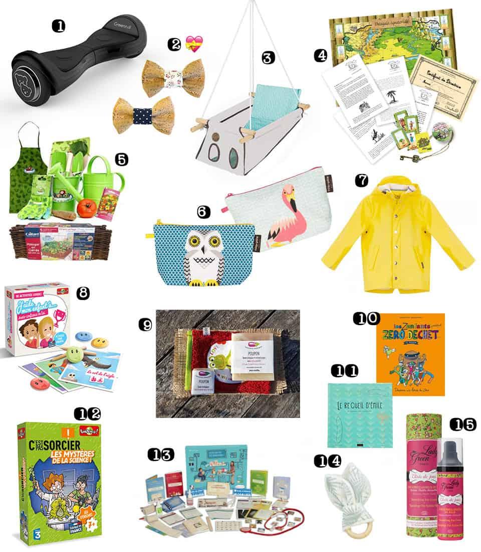 idées cadeaux de noël pour enfants ecolo bio green ethique