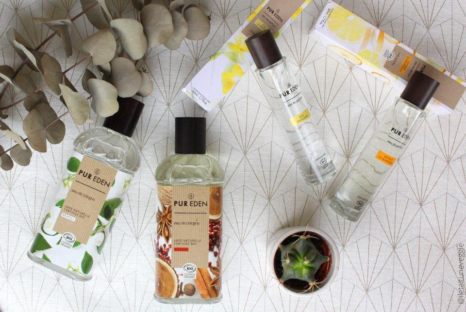 Pur Eden les parfums naturels, bio et vegan (+ Code promo)