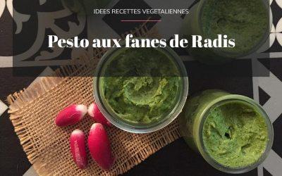 Pesto aux fanes de radis vegan