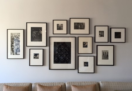 How to Arrange Art Above Your Sofa