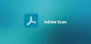 Logo adobe scan