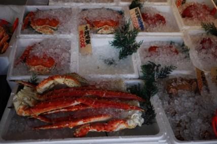 Japon - Sapporo / Nijo Fish Market