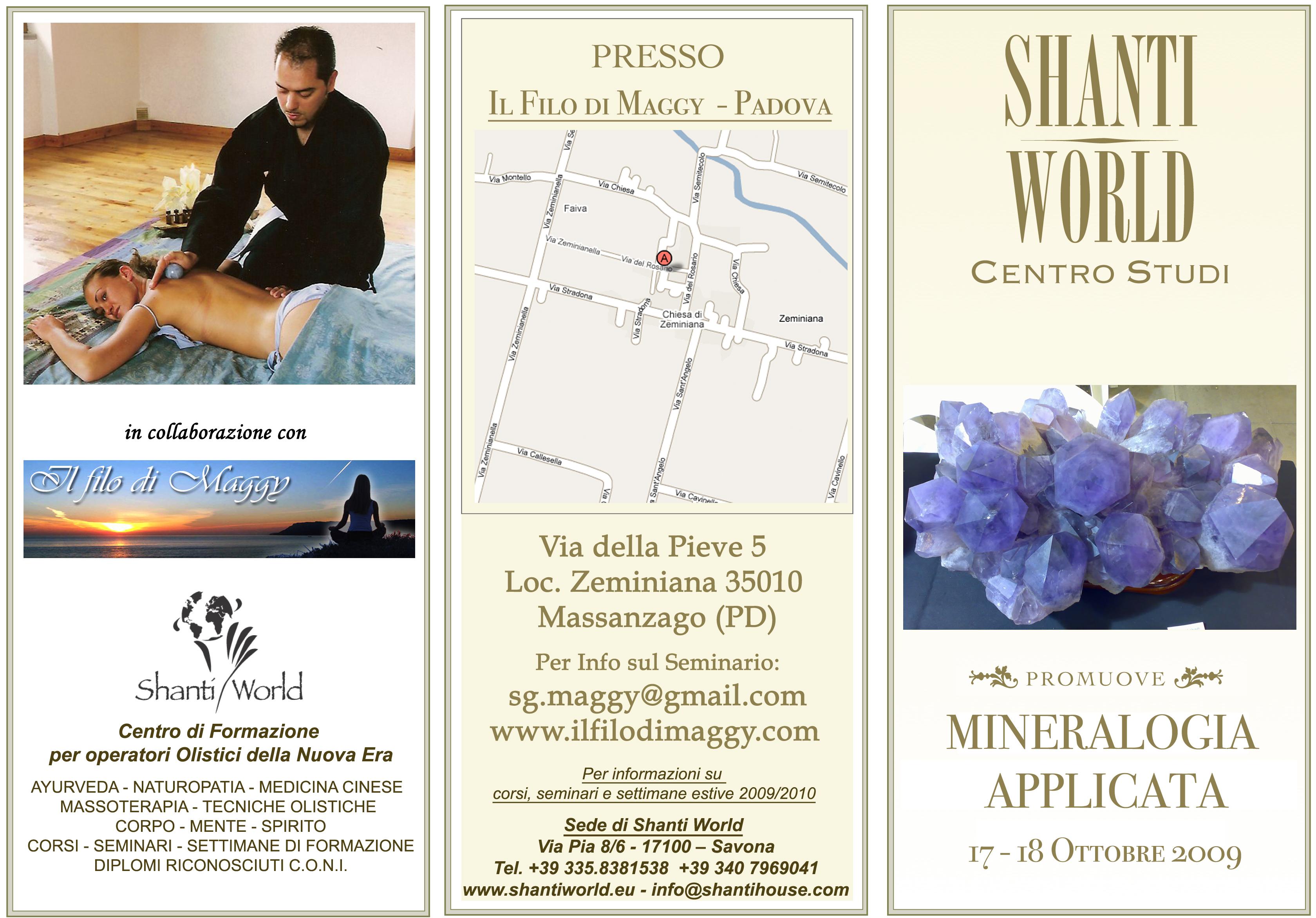 MINERALOGIA APPLICATA - Padova 17-18 Ottobre