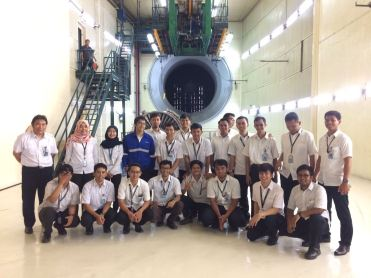 Visit at Engine Test Area