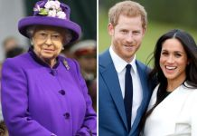 Prince Harry, Meghan Markle, Queen-Elizabeth