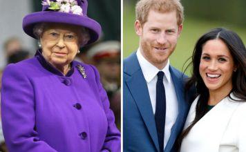 Prince Harry, Meghan Markle, Queen-Elizabeth