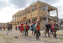 Bambini di Idlib