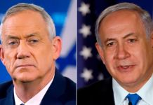 Gantz and Netanyahu
