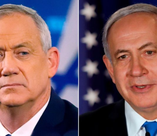 Gantz and Netanyahu