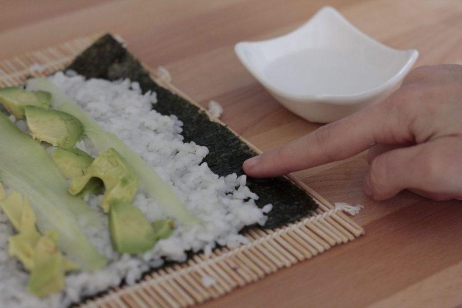 sushi maki ricetta vegano