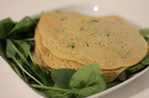 pancake-vegan-spinaci