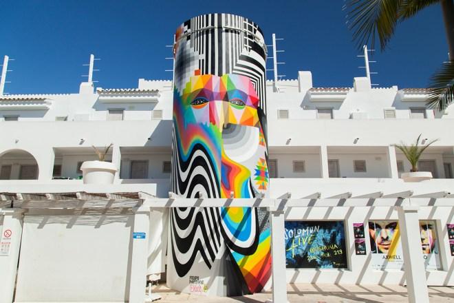 Felipe Pantone Okuda Wall Burners Ibiza