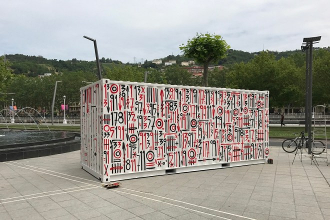 Sixe Paredes Street Art Container Bilbao