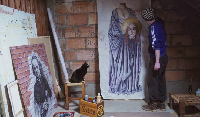 Zilda street art Noyal-Pontivy