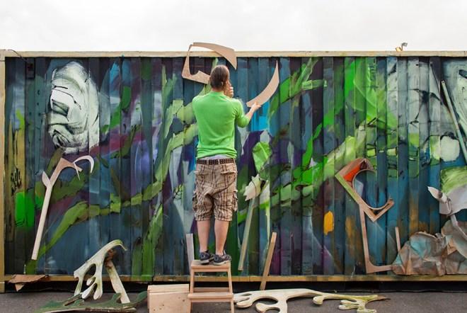 Laguna Street Art The Sea Container Project Amsterdam
