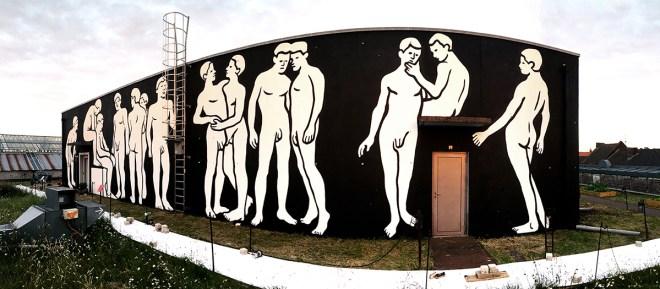 MP5 Street Art Roubaix France