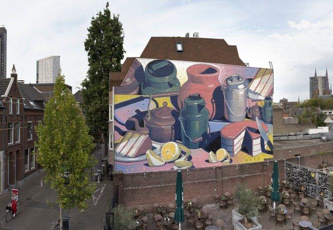 Aryz Street Art Naestved Eindhoven