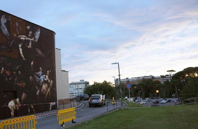 Ravo Street Art Policlinico Gemelli Roma