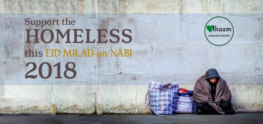 Support the homeless this Eid Milad un Nabi 2018