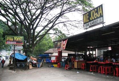 Kedai Mie Jogja Pak Karso Pajajaran Bogor dan Ayam Penyet Surabaya