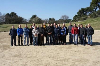 Επίσκεψη στην Ολυμπία στελεχών του ΚΕΑΤ της 117 ΠΜ Ανδραβίδας και του ΝΑΤΟϊκού Κέντρου Αριστείας Joint Air Power Competence Centre (JAPCC) photo credits: ΚΕΑΤ