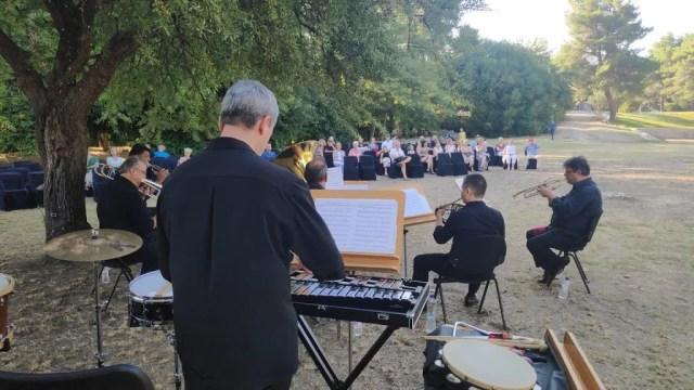 ΕΦΑ Αρχαιοτήτων Ηλείας- Αρχαίο Γυμνάσιο Ολυμπίας: Τα πάντα ήταν ρυθμός και μαγεία στη συναυλία του METALLON Quintet της Κρατικής Ορχήστρας Αθηνών(Photos-ΒΙΝΤΕΟ)