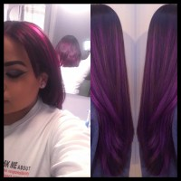 Crazy Hair Coloring!! (Purple Haze)  Glamour_girl