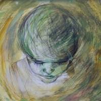 Akrylmaleri - 29 x 42