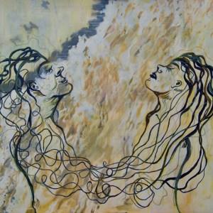 Akrylmaleri - 100 x 120