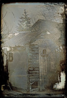 birds house, 10x15cm daguerreotype